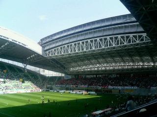 神戸ウイングスタジアム。