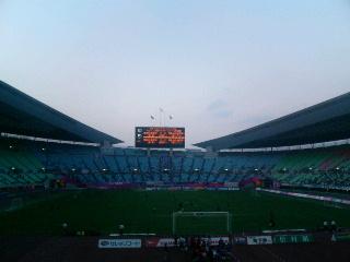 長居スタジアム。