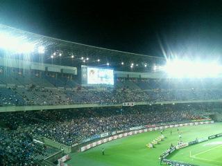 横浜国際競技場。