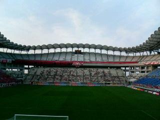 カシマサッカースタジアム。