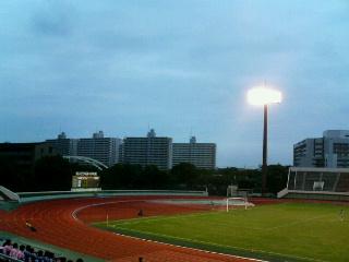 江戸川区陸上競技場。