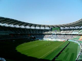 エコパスタジアム。