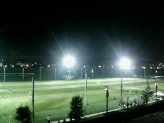 しんよこフットボールパーク。