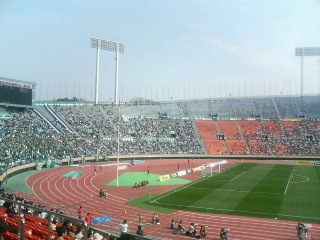 国立霞ケ丘競技場。