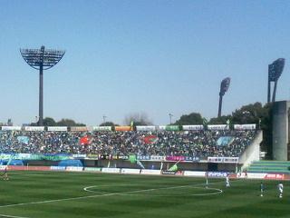平塚競技場。