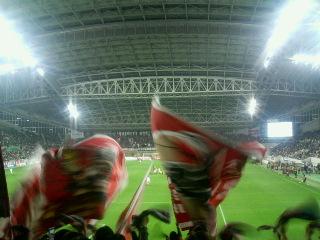 ホームズスタジアム。