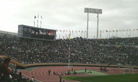 国立霞ヶ丘競技場。