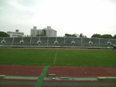 駒沢陸上競技場。