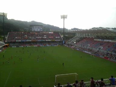日本平スタジアム。