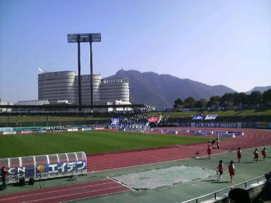 長良川競技場。